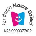 Fundacja Nasze Dzieci - logo z nr KRS 0000377619